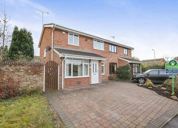 Thumbnail 3 bed semi-detached house for sale in Melrose Drive, Perton, Wolverhampton