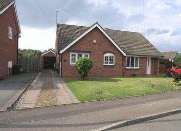 Thumbnail 1 bed semi-detached bungalow for sale in Meadow Park Road, Stourbridge