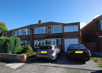 Thumbnail 5 bed semi-detached house for sale in Beechcroft Avenue, Gosforth, Newcastle Upon Tyne