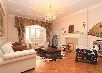 Thumbnail 4 bed flat to rent in Oakwood Court, Kensington