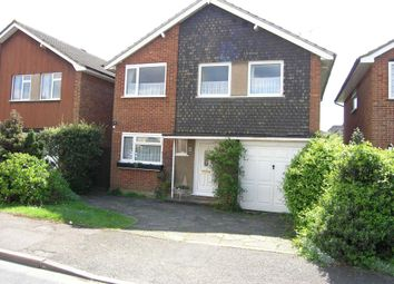 Thumbnail 4 bed detached house for sale in Ashlyn Close, Bushey