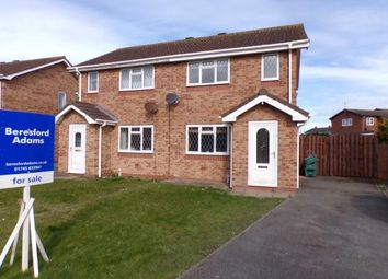 Thumbnail 2 bed semi-detached house for sale in Lon Glanfor, Abergele, Conwy, .