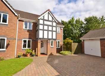 Thumbnail 3 bed semi-detached house for sale in Yew Tree Close, Eaves Green, Chorley