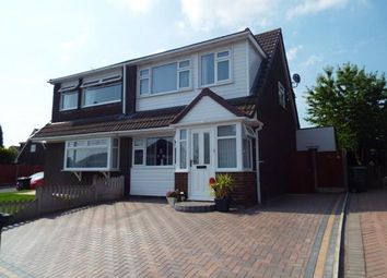 Thumbnail 3 bed semi-detached house for sale in Ascot Avenue, Runcorn, Cheshire