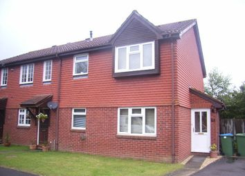 Thumbnail 1 bed terraced house to rent in Larkspur Close, Locks Heath, Southampton