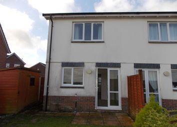 Thumbnail 2 bed semi-detached house to rent in Foxglove Close, Launceston