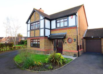 Thumbnail 4 bed detached house for sale in Birch Close, South Ockendon, Essex