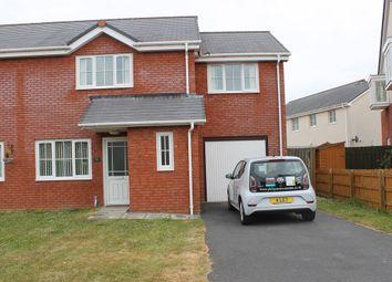 Thumbnail 3 bed semi-detached house to rent in Glan Rheidol, Aberystwyth