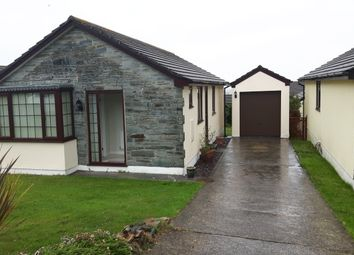 Thumbnail 3 bed detached bungalow to rent in Durning Road, St. Agnes