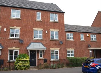 Thumbnail 3 bed town house for sale in Dallow Street, Burton-On-Trent, Staffordshire