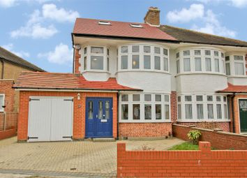 Thumbnail 4 bed semi-detached house for sale in Eversley Crescent, Ruislip