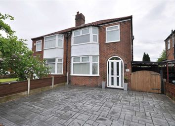 Thumbnail 3 bed semi-detached house for sale in Appleton Road, Heaton Chapel, Stockport, Greater Manchester