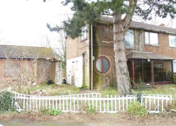 Thumbnail 3 bedroom semi-detached house for sale in Thackeray Street, Sinfin, Derby, Derbyshire