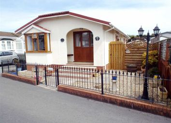 Thumbnail 2 bed mobile/park home for sale in Bramble Drive, Claremont Park, Berrow
