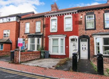 Thumbnail 2 bed terraced house for sale in The Woodlands, Tranmere, Birkenhead