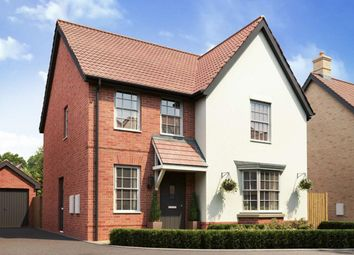 "Thumbnail 4 bedroom detached house for sale in ""Bradbury"" at Caistor Lane, Poringland, Norwich"