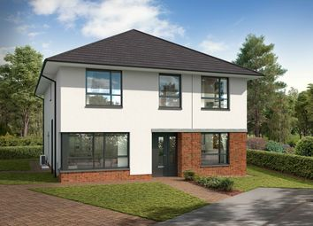 Thumbnail 4 bedroom detached house for sale in Stewart Gardens, Malletsheugh Road, Newton Mearns
