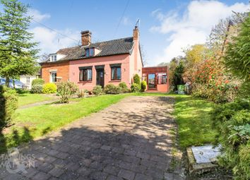Thumbnail 2 bedroom cottage for sale in Hall Road, Pulham St. Mary, Diss