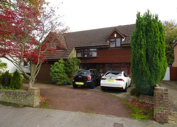 Thumbnail 5 bed detached house for sale in Springvale, Wigmore, Kent.