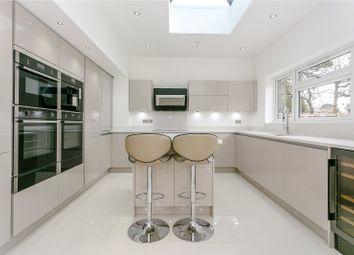 Thumbnail 4 bedroom detached house for sale in Macdonald Road, Lightwater, Surrey