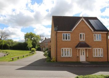 Thumbnail 3 bed detached house for sale in Newbury Close, Corby