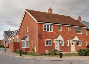 Thumbnail 3 bed semi-detached house for sale in Cutforth Way, Romsey