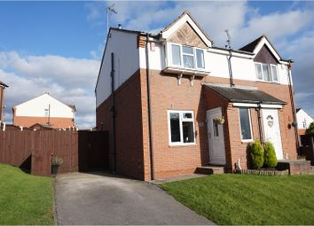 Thumbnail 2 bed semi-detached house for sale in Birchen Holme, Alfreton