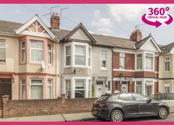 Thumbnail 3 bed terraced house for sale in Methuen Road, Newport