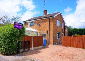Thumbnail 3 bed semi-detached house for sale in Kneesal Close, Meden Vale