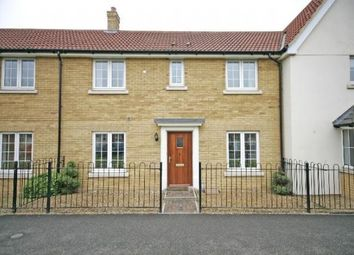 Thumbnail 3 bed terraced house to rent in Thistle Way, Red Lodge, Bury St. Edmunds