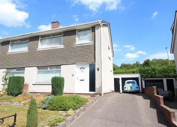 Thumbnail 3 bed semi-detached house for sale in Vanfield Close, Caerphilly
