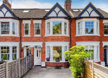 Thumbnail 4 bed terraced house for sale in Leigh Road, Cobham
