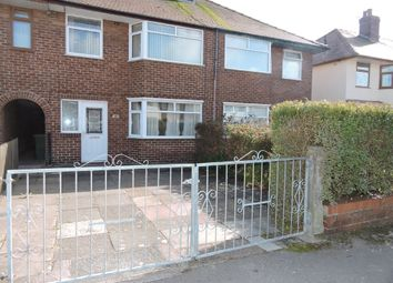 Thumbnail 3 bed terraced house for sale in Wensley Avenue, Fleetwood