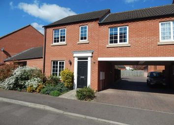 Thumbnail 3 bed semi-detached house to rent in Flawn Way, Eynesbury, St. Neots