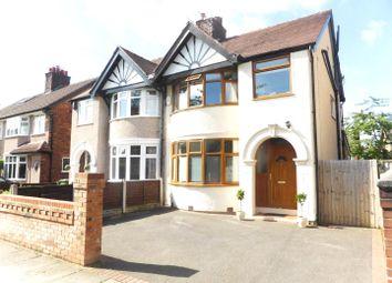 Thumbnail 4 bed semi-detached house for sale in Townfield Lane, Bebington