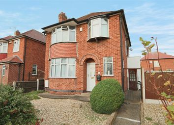 Thumbnail 3 bed detached house for sale in Lynton Gardens, Arnold, Nottingham