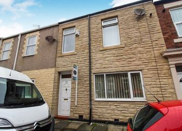 Thumbnail 3 bedroom terraced house for sale in Aldborough Street, Blyth