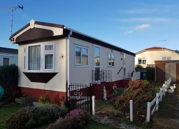 Thumbnail 1 bed mobile/park home for sale in Four Horseshoes Park, Seasalter Road, Graveney, Faversham