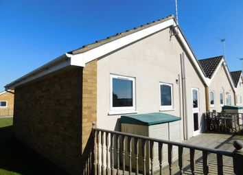 Thumbnail 2 bed terraced bungalow for sale in Waterside Holiday Park, The Street, Corton