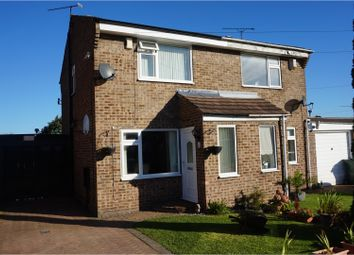 Thumbnail 2 bedroom semi-detached house for sale in Landseer Court, Flanderwell, Rotherham