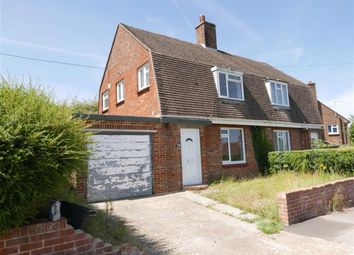 Thumbnail 2 bed semi-detached house for sale in Fitzroy Road, Lewes, East Sussex