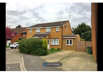 Thumbnail 4 bedroom semi-detached house to rent in New Woodfield Green, Dunstable