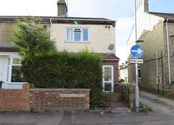 Thumbnail 3 bedroom end terrace house for sale in Cromwell Road, Peterborough