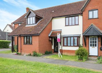 Thumbnail 2 bed terraced house for sale in Home Meadow, Laxfield, Woodbridge