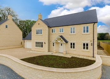 Thumbnail 5 bedroom detached house for sale in Hunters Court, Town Road, Quarrington, Lincolnshire