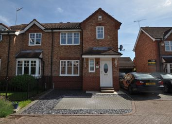 Thumbnail 3 bed semi-detached house for sale in Maiden Court, Castle Grange, Hull