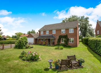 Thumbnail 5 bed detached house for sale in Northacre, Caston, Attleborough