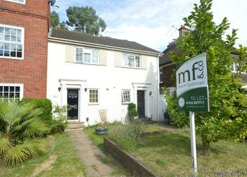Thumbnail 2 bed terraced house to rent in Belgrave Close, Hersham, Walton-On-Thames, Surrey