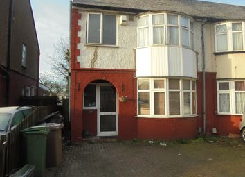 Thumbnail 3 bed semi-detached house to rent in Chester Ave, Luton