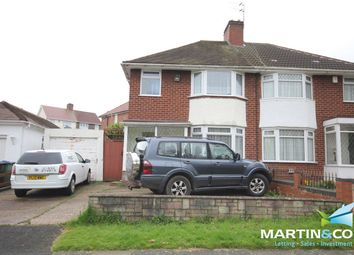 Thumbnail 3 bed semi-detached house to rent in Norman Road, Smethwick